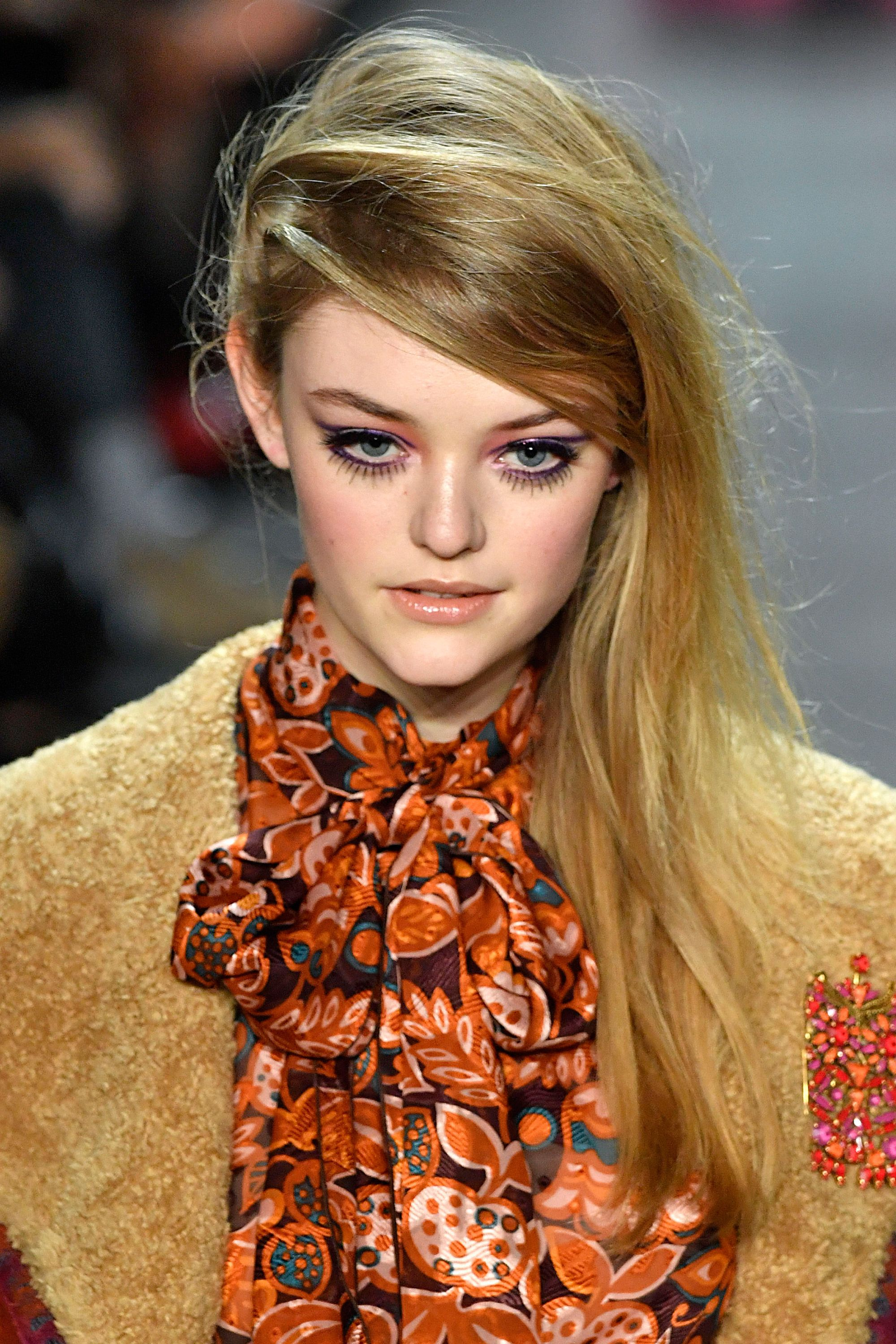 the runway hair trends for autumn/winter 2018