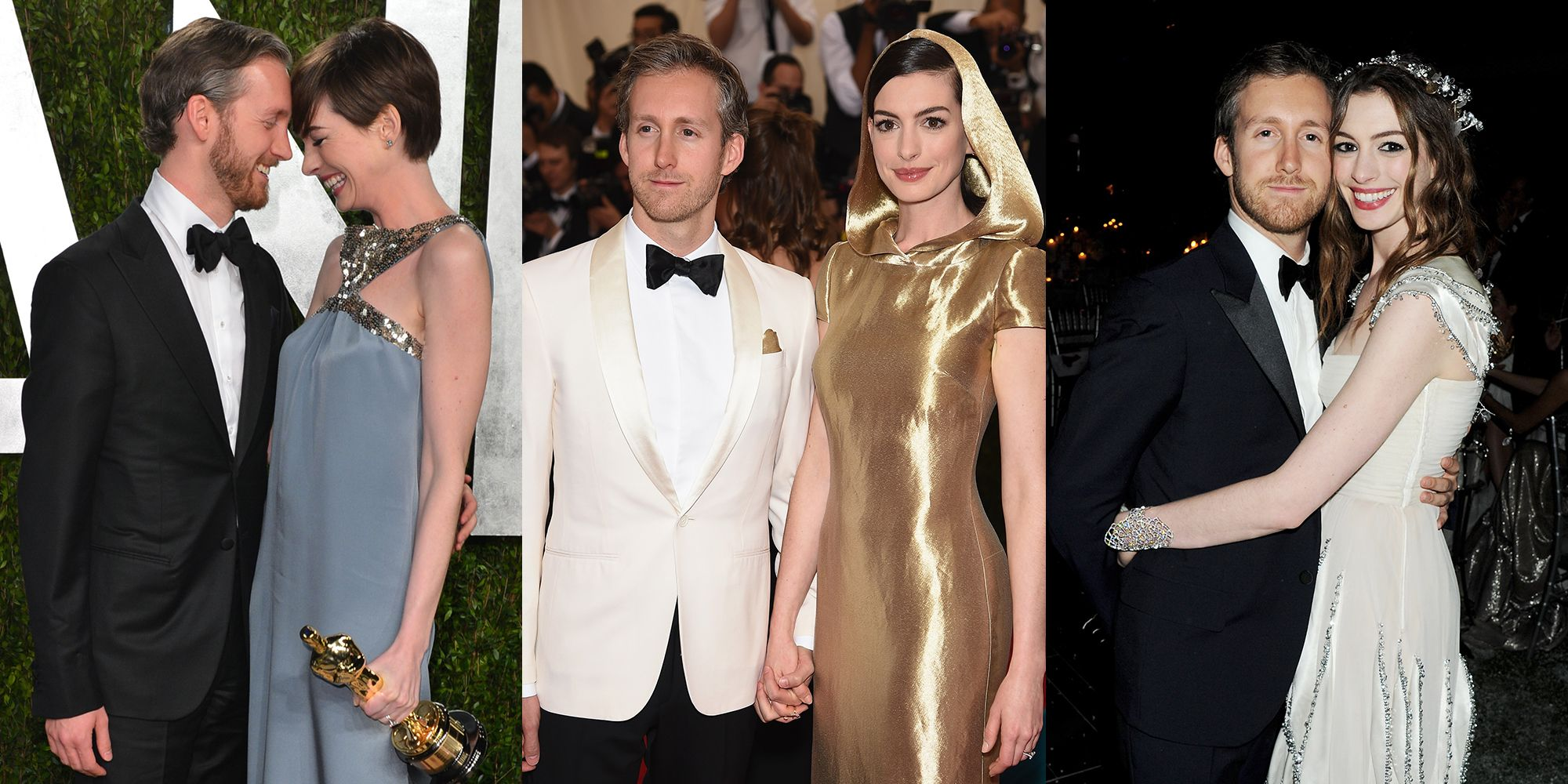 Hathaway and her husband, producer and designer Adam Shulman, split their times between homes outside New York City and Los Angeles.