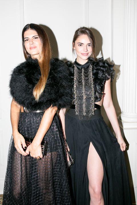 Clothing, Fur, Fur clothing, Fashion, Fashion model, Dress, Haute couture, Outerwear, Textile, Fashion design,
