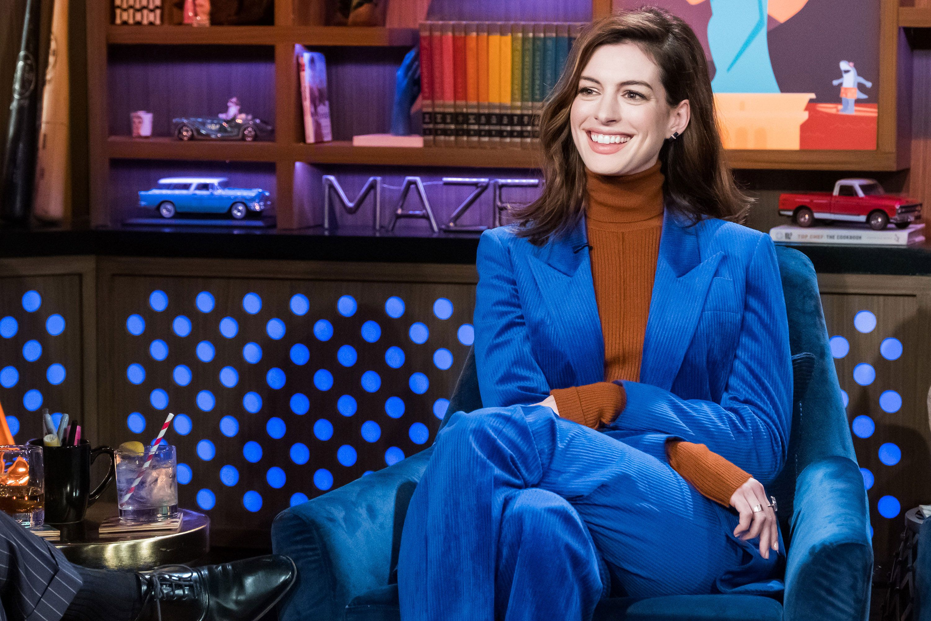 "Anne Hathaway on giving up alcohol: ""It's irritating how well it's going"""