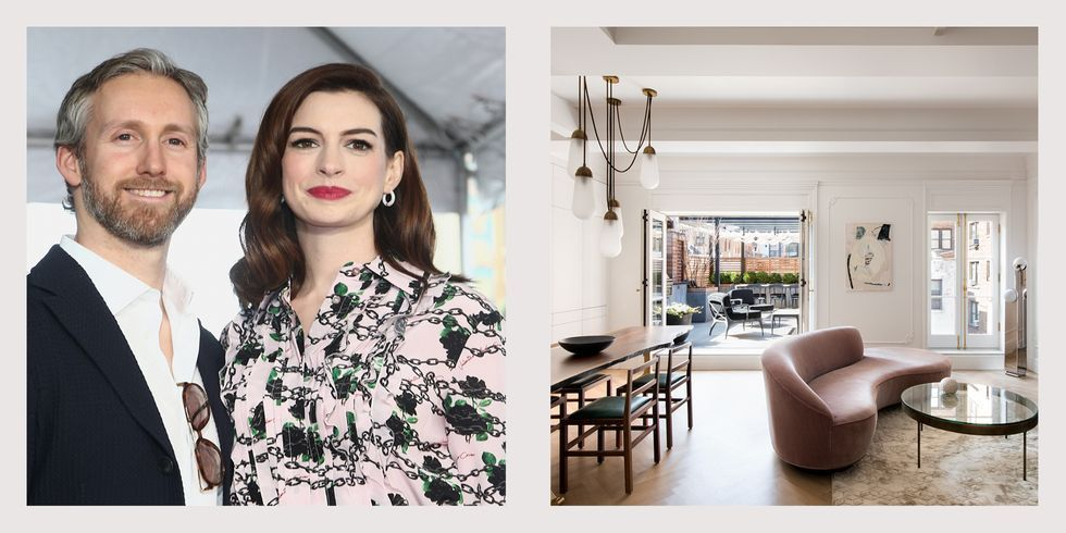 Anne Hathaway's New York penthouse is up for sale