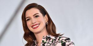 Anne Hathaway - women's health uk