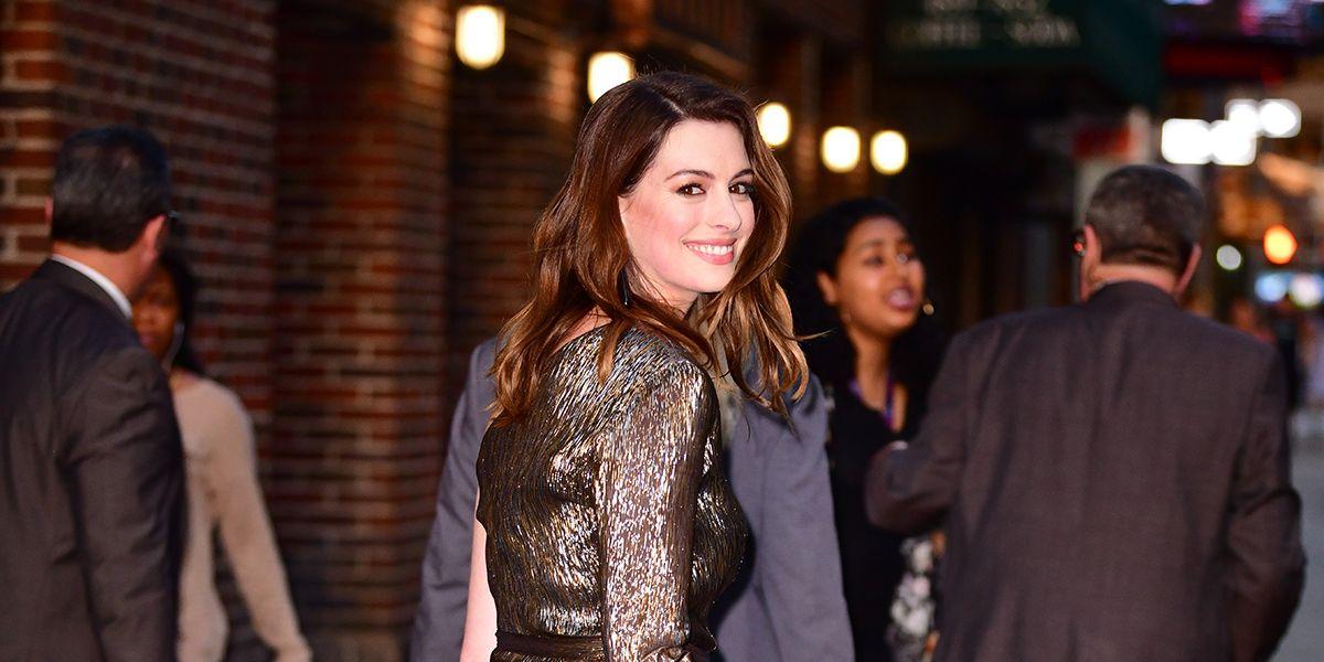 Anne Hathaway figlio: da quando è mamma di Jonathan non beve più