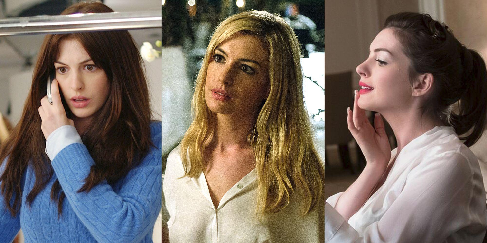Hathaway in the Devil Wears Prada, Serenity, and Oceans 8.