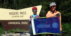 leukemia survivors ride across the country