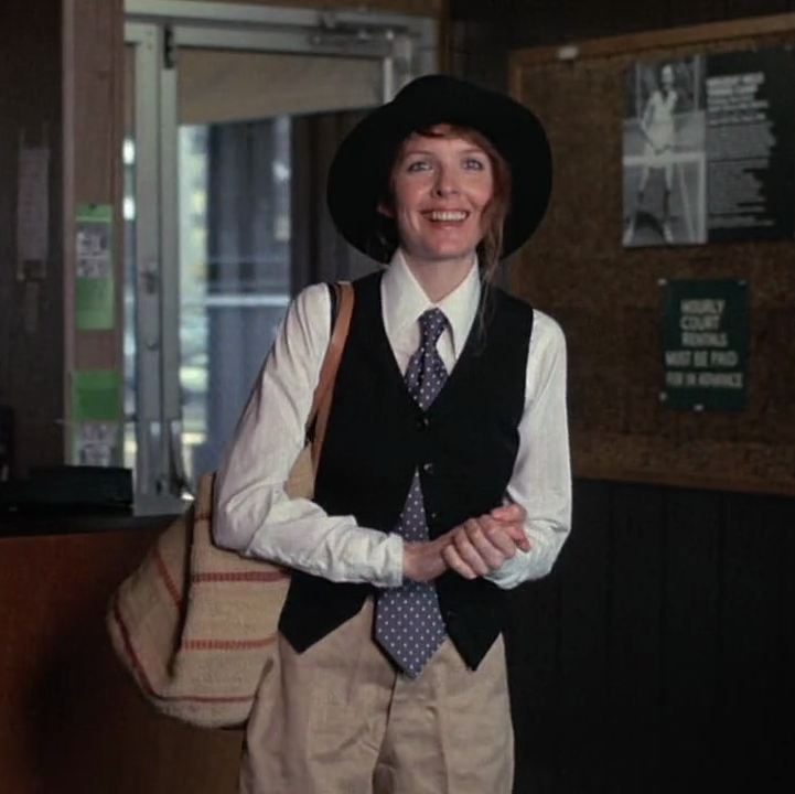 Annie Hall Won: Best Picture, Best Director (Woody Allen), Best Actress (Diane Keaton), and Best Original Screenplay In what might arguably be her most iconic role, Diane Keaton played the idiosyncratic title character in this post-modern rom-com from writer-director Woody Allen, which tracks the relationship between two New Yorkers inspired by the film's stars' own romance.