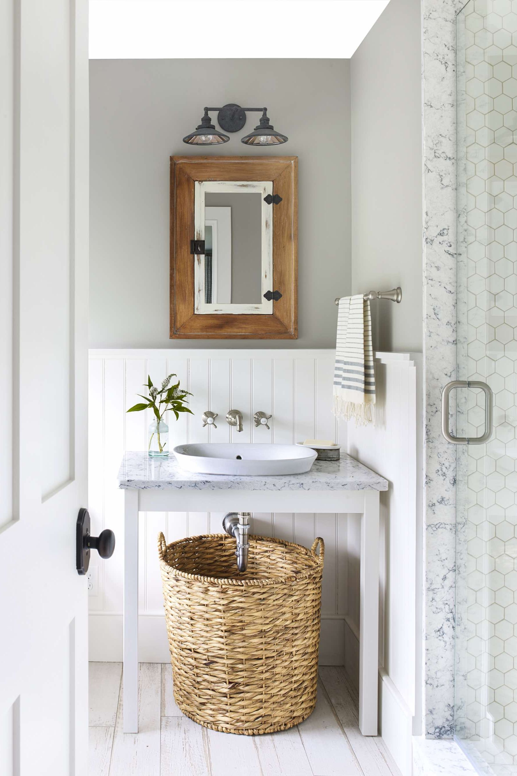 bathroom paint colors gray