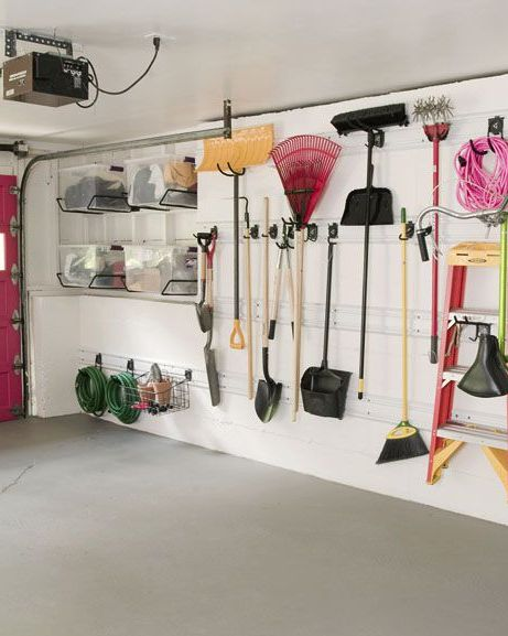annie selke garage wall organization