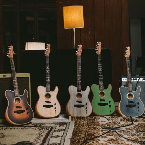 Fender's 'Acoustasonic' Is a True Acoustic-Electric Hybrid Guitar