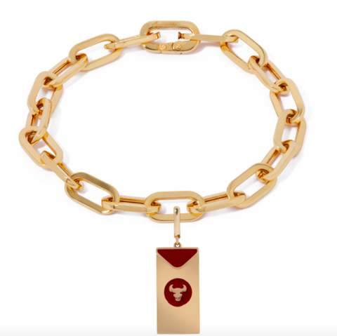annoushka year of the ox charm gold bracelet