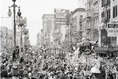 Annual Mardi Gras Bacchus Parade