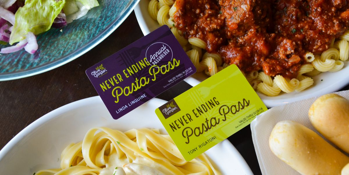 All The Pasta You Can Eat With Olive Garden S Never Ending: Olive Garden Is Bringing Back Never Ending Pasta With An