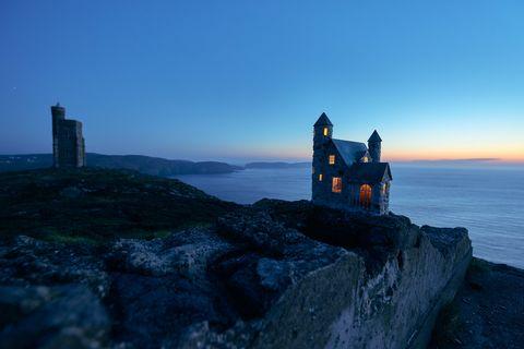 Isle of Man fairy houses photo