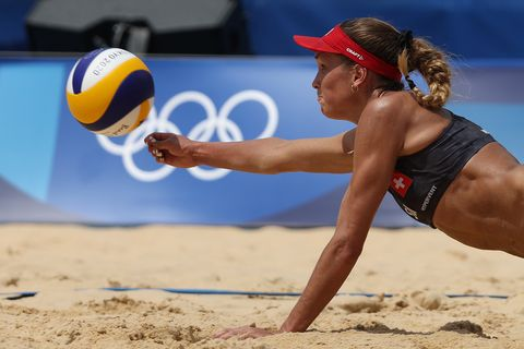 beach volleyball olympics day 6
