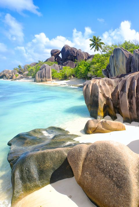 Anse Source d'Argent пляж