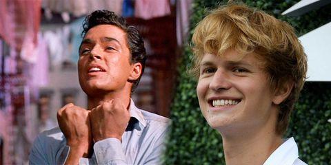 Richard Beymer y Ansel Elgort interpretan a Tony en las dos versiones de 'West Side Story'