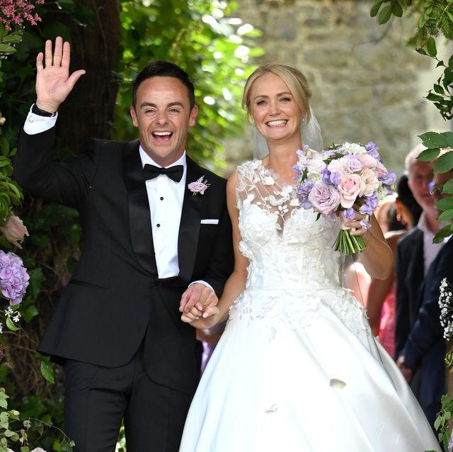the wedding of ant mcpartlin  anne marie corbett sightings