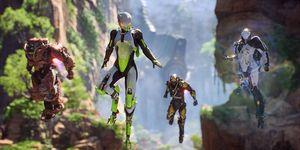 Anthem on Xbox One X