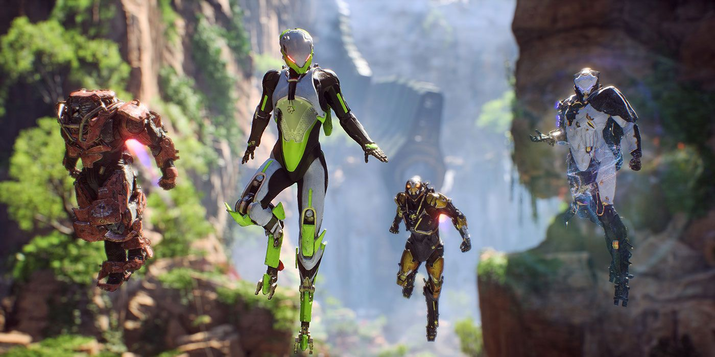 Anthem on Xbox One X