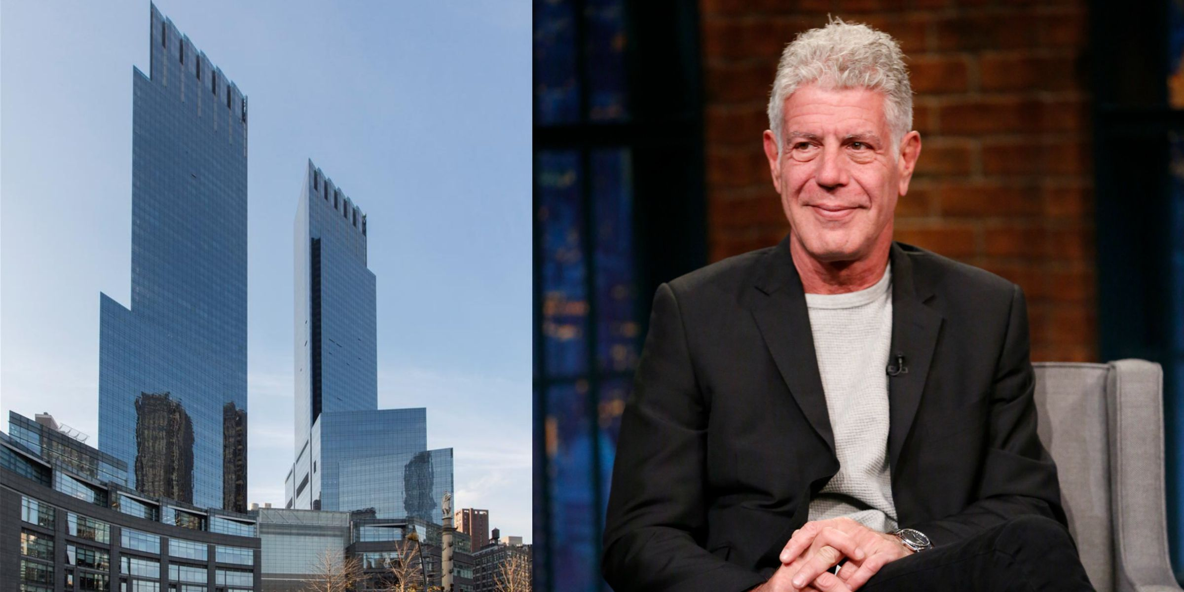 Anthony Bourdainu0027s New York City Apartment Is On The Market For $14,200 A  Month