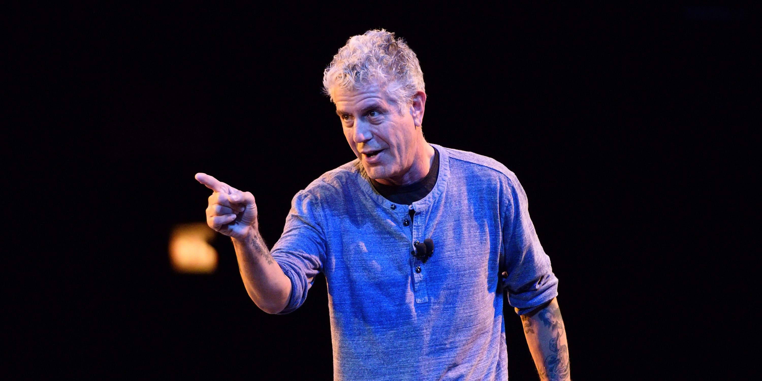 Anthony Bourdain Close To The Bone Tour