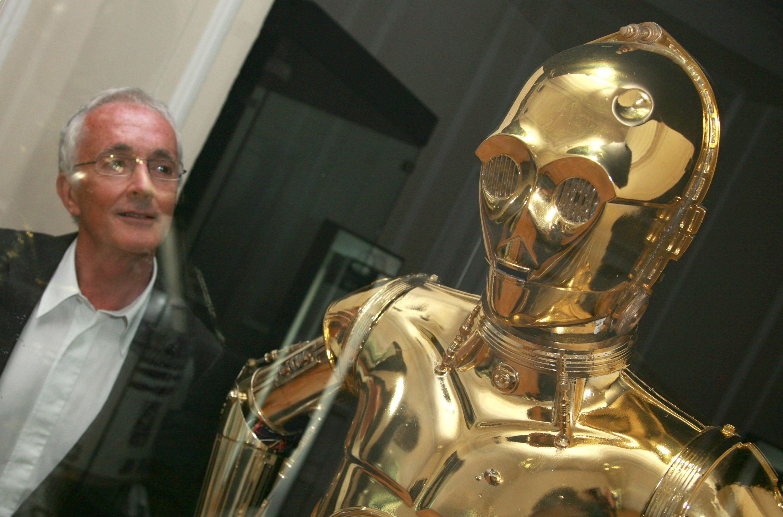 Star Wars Episodio IX C 3PO despedida - rodaje c3po Anthony Daniels
