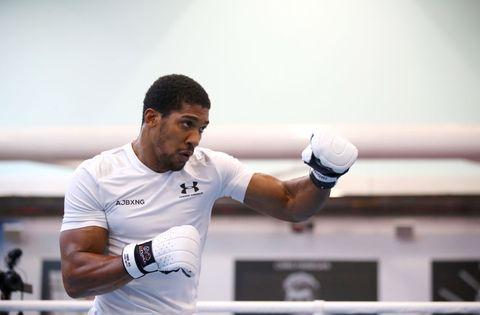 Anthony Joshua Media Workout - English Institute of Sport