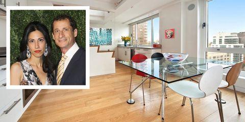 Anthony Weiner Huma Abedin Apartment