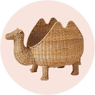anthro kids camel basket