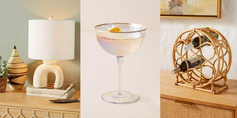 Stemware, Table, Drink, Glass, Drinkware, Champagne stemware, Wine glass, Tableware, Lampshade, Lamp,
