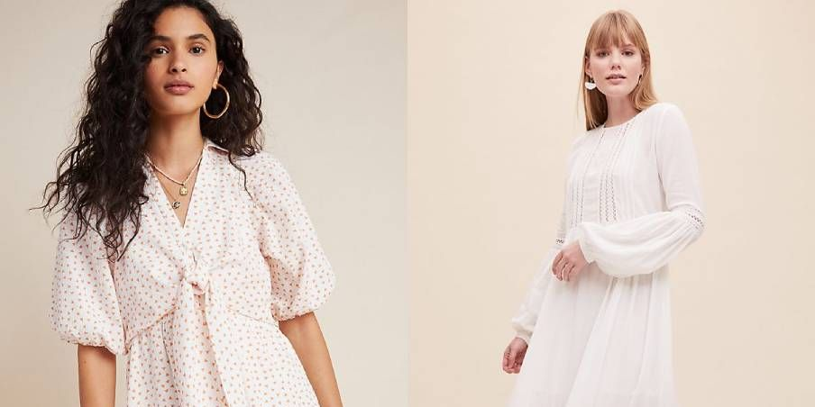 10 summer dresses we're buying in the Anthropologie sale
