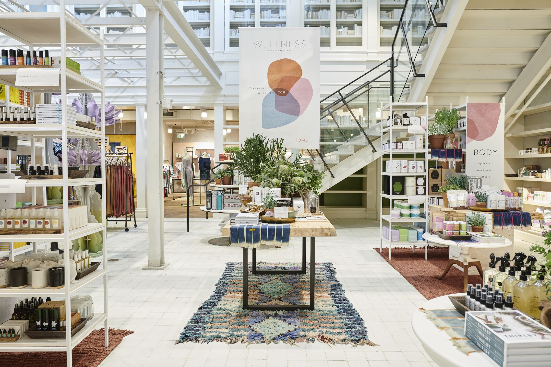 Anthropologie Just Opened 12 Wellness Shops