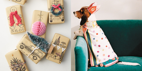 Pink, Dachshund, Room, Design, Pattern, Pattern, Canidae, Fawn, Gift wrapping, Fashion accessory,