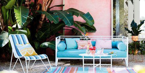 Anthropologie Outdoor Furniture