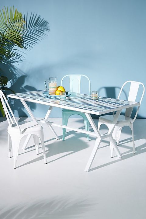 Fabulous Anthropologie Is Debuting Its First Weather Resistant Evergreenethics Interior Chair Design Evergreenethicsorg