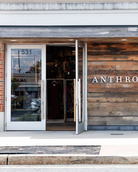Anthropologie store in North Brunswick Township, New Jersey...