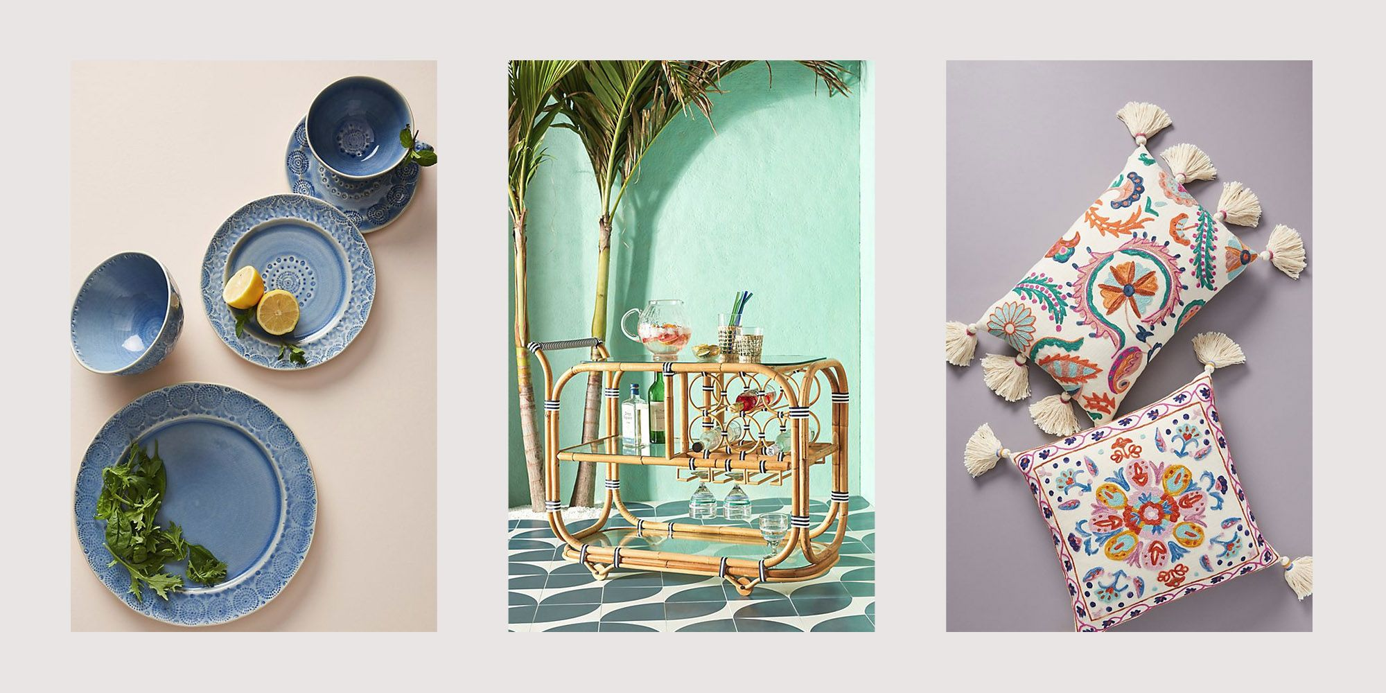 Anthropologie's New Outdoor Collection Will Make Your Summer Infinitely Chicer