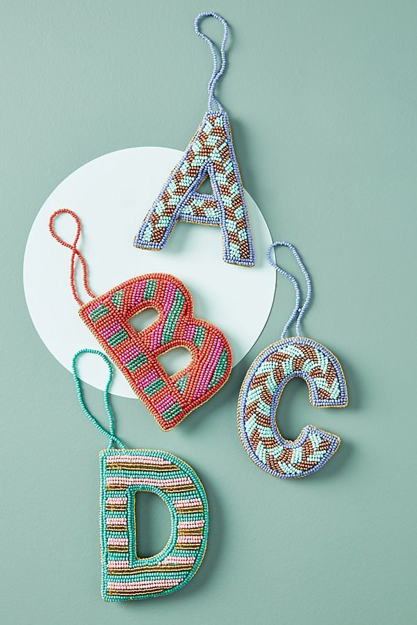 Anthropologie Christmas decorations