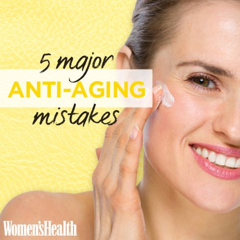 5 Major Anti-Aging Mistakes Tons of Women Make