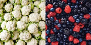 Berries cauliflower anti inflammatory foods