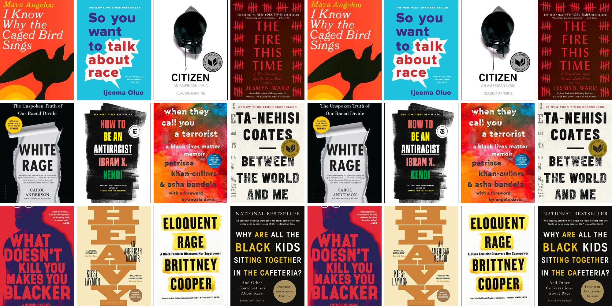 20 Best Books About Anti-Racism - Anti-Racist Reading List