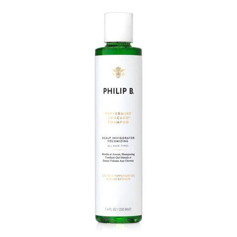 beste shampoos tegen roos philip b peppermint  avocado shampoo   mini