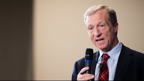 Anti-Trump Billionaire Tom Steyer Holds Event In Charleston, South Carolina