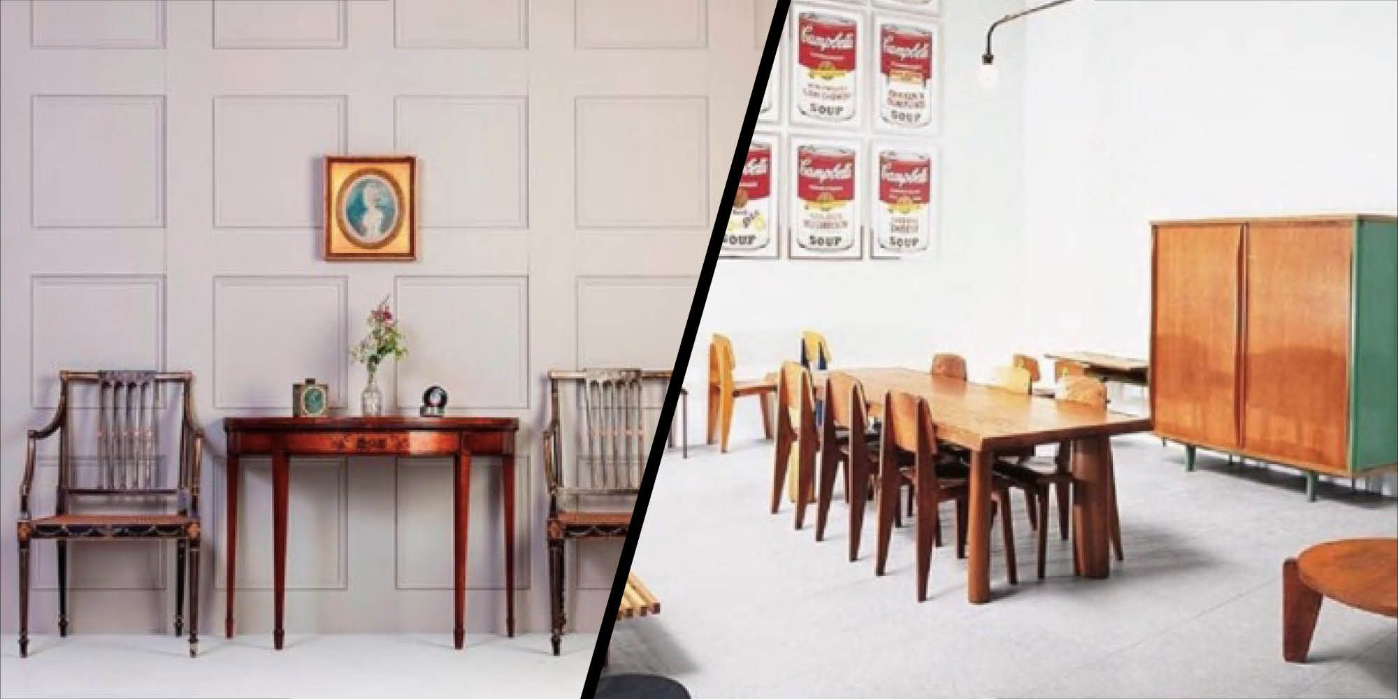 Antique furniture is becoming increasingly popular with millennials