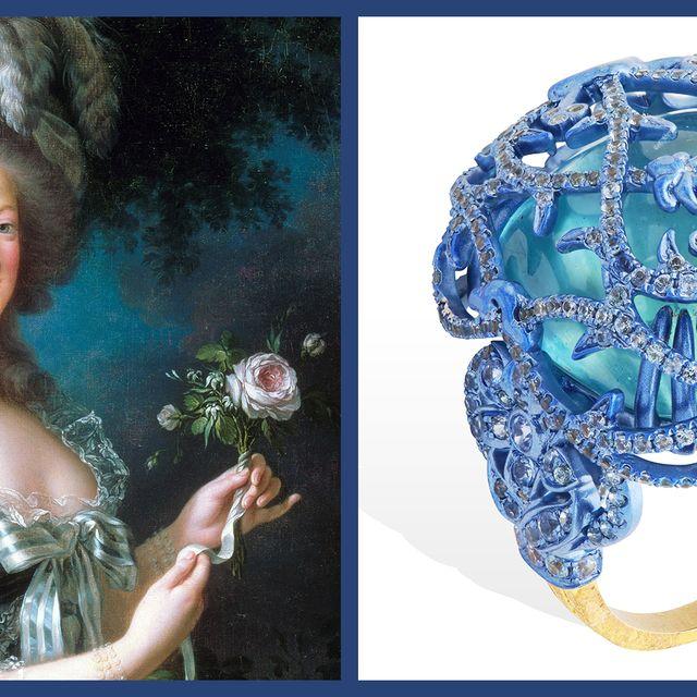 Blue, Beauty, Fashion accessory, Organism, Hair accessory, Headpiece, World,