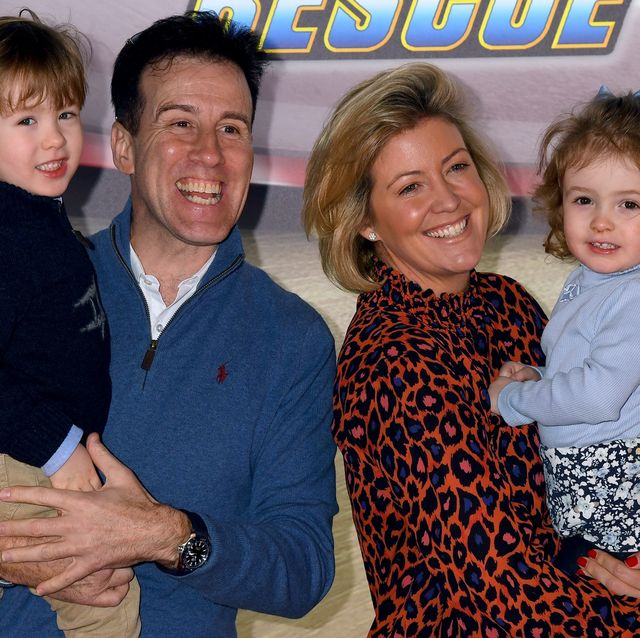 """anton du beke and hannah summers attend the """"paw patrol"""" gala screening at cineworld leicester square on january 19, 2020 in london, england"""