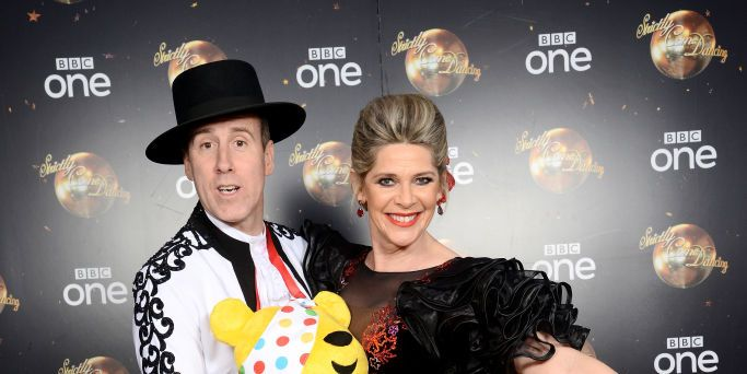 Ruth Langsford Anton du Beke Strictly Come Dancing