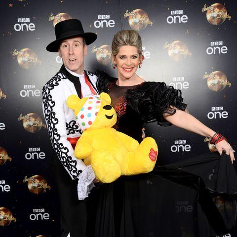 Ruth Langsford Anton du Beke Strictly Come Dancing