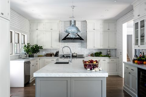 Countertop, White, Kitchen, Room, Cabinetry, Furniture, Interior design, Property, Ceiling, Floor,
