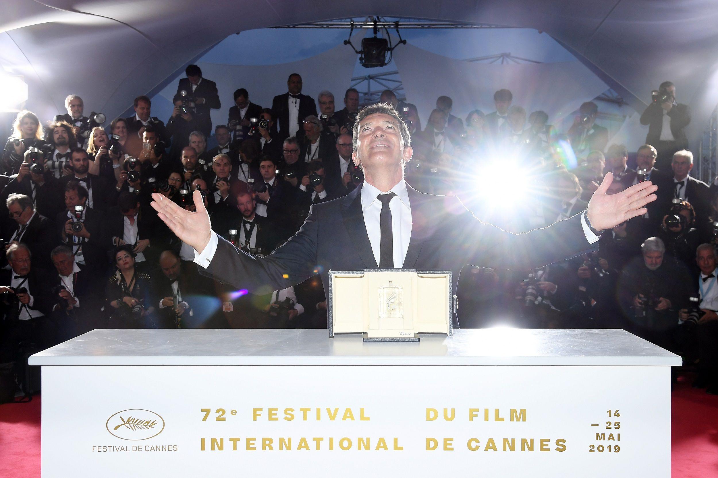 Antonio Banderas, mejor actor en Cannes 2019, a por el Oscar